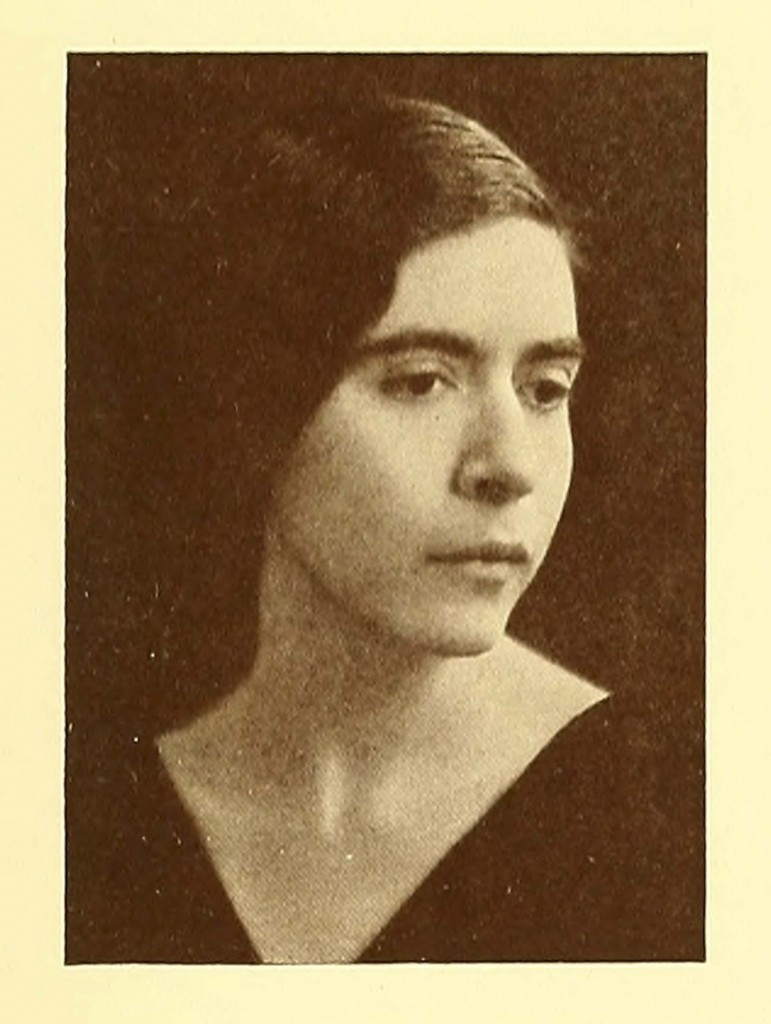 Enid Cook, Class of 1931, in her senior yearbook picture.