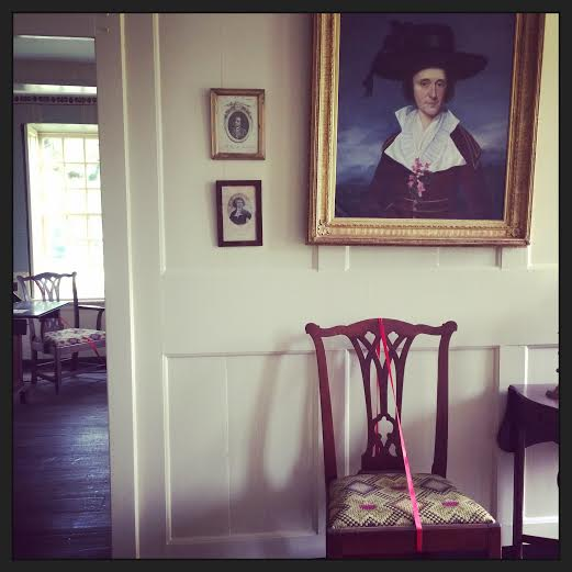 "The room in which the ""poisoned cocoa"" legend is rumored to have occurred. Harriton House, Bryn Mawr, PA 
