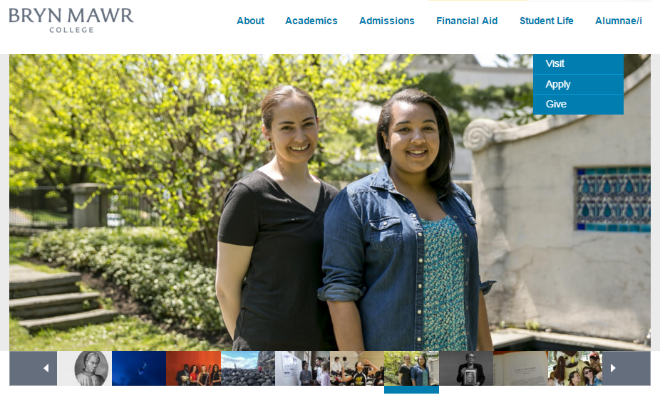 Black at Bryn Mawr on the College website, March 2016.